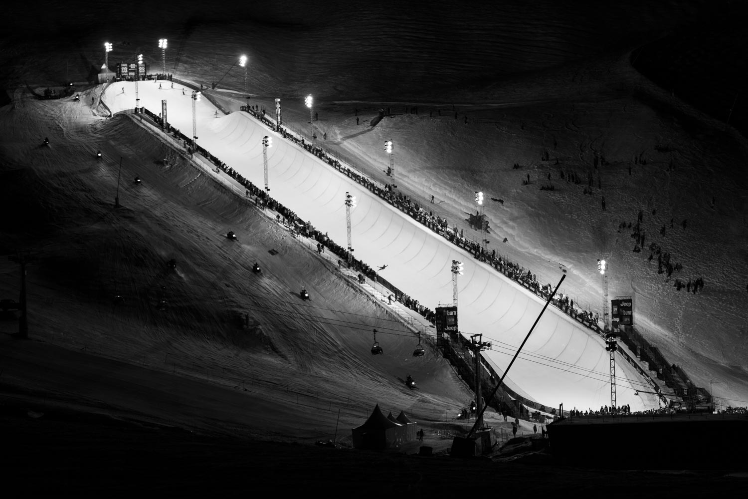 Winter X-Games - XGames 2012 - HalfPipe - SuperPipe - Tignes